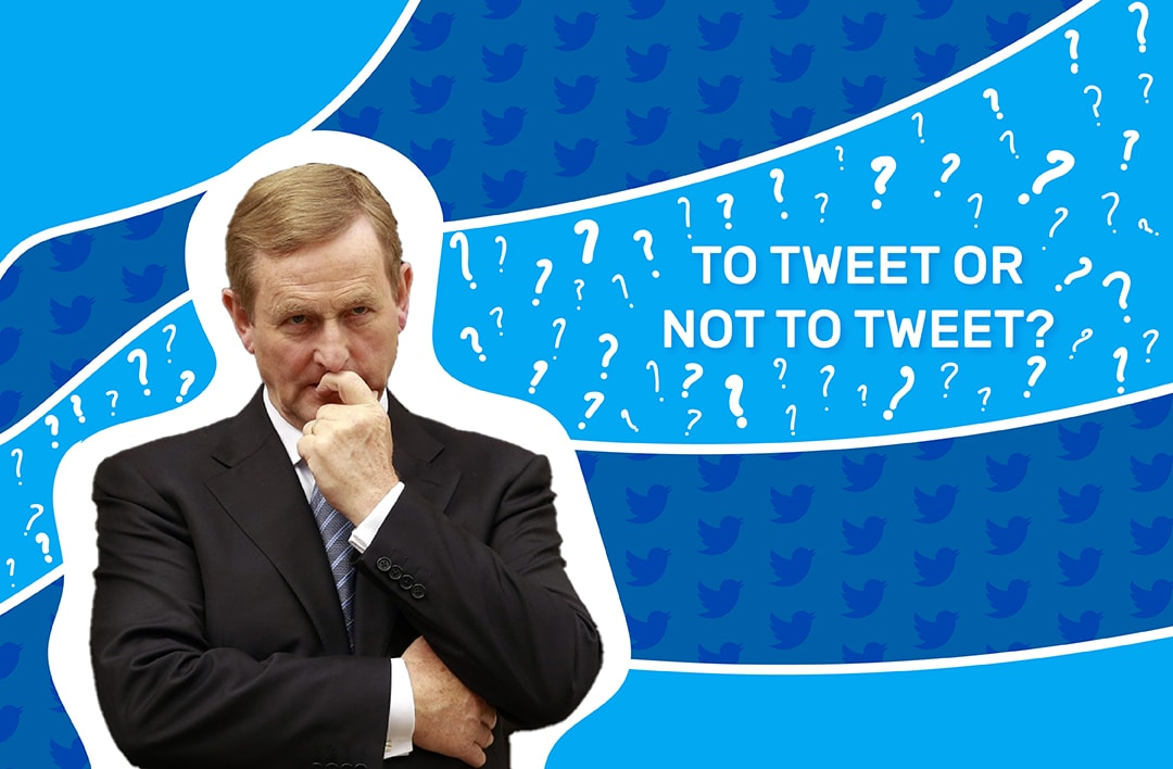 Should Enda Kenny Be More Vocal On Twitter?