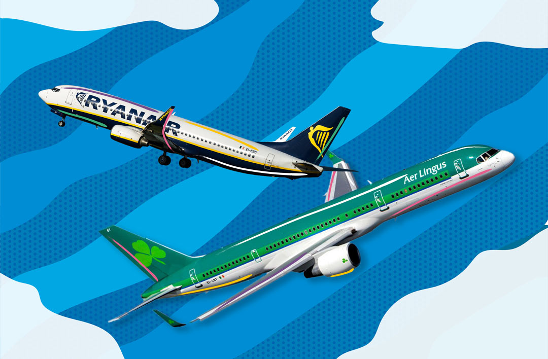 UX Comparison - Aer Lingus and Ryanair