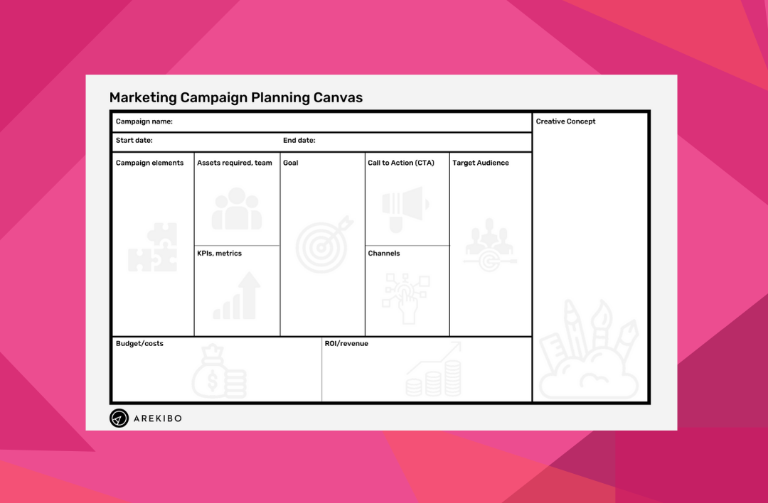 Marketing campaign planner canvas whitepaper