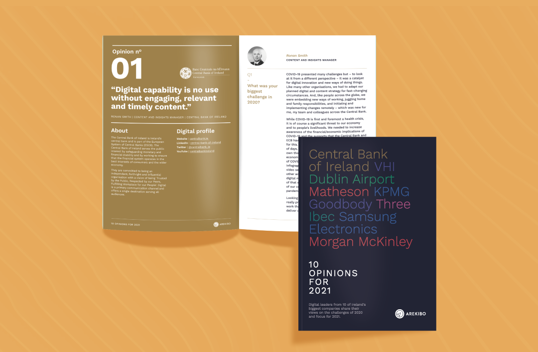 Central Bank of Ireland: Focus on content for better UX